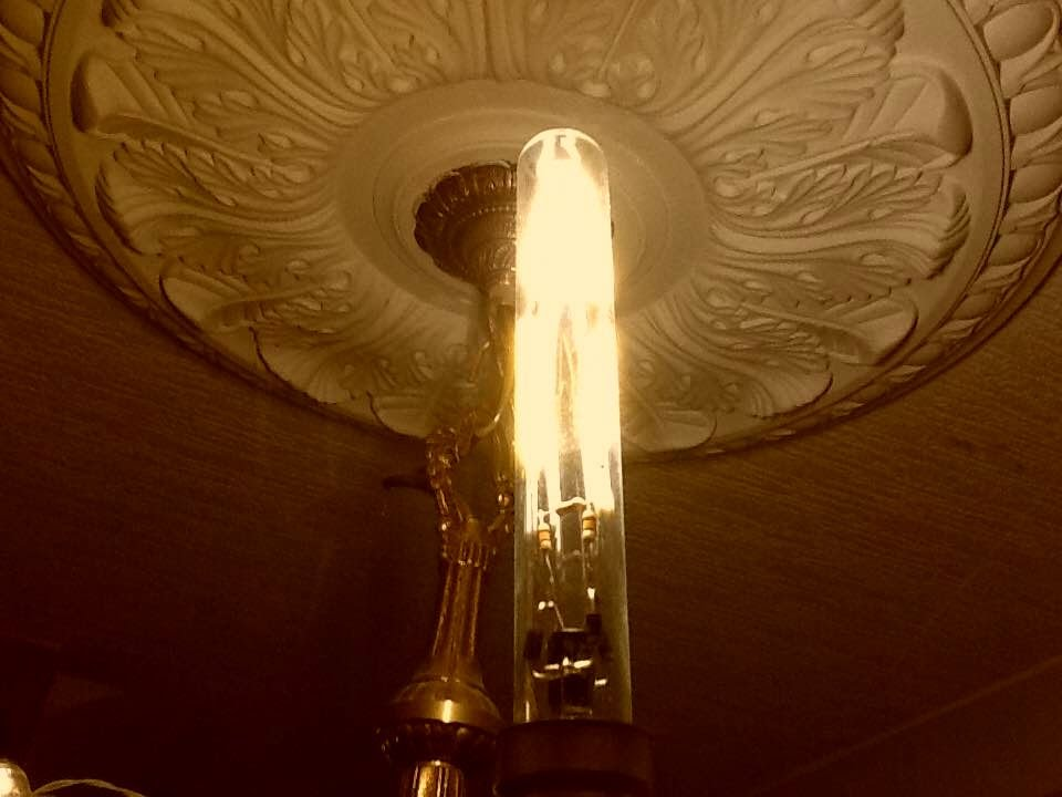 Making A DIY Tubular Glass LED Filament Lamp.   YouTube