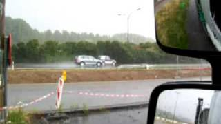 pluie d'orage à bruxelles