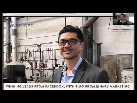 Facebook Marketing for Financial Adviser with Tino of Binary Marketing