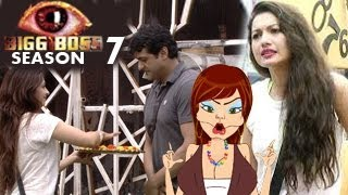 Bigg Boss 7 Armaan Kohli & Gauhar Khan SWAP- 19th September 2013 episode