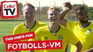 Crossbar challenge med svenska landslaget
