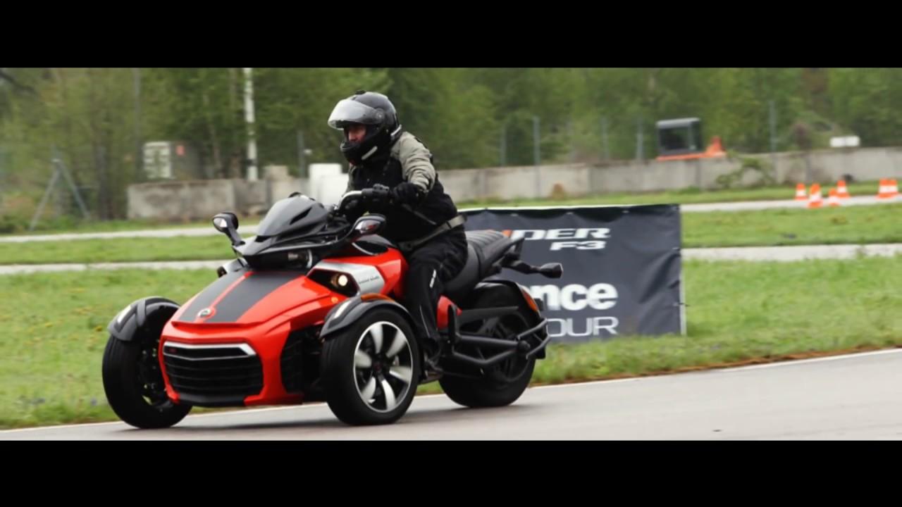 Brp Experience Tour Can Am Spyder F3 Geoparc Saint Die Des Vosges 2 Mai 2015