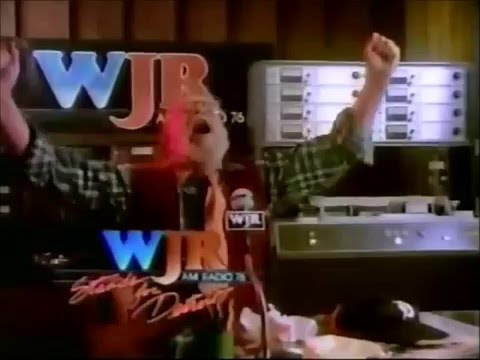 1983 Detroit: WJR-AM 760 Commercial:  WJR stands for Sports