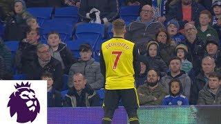 Gerard Deulofeu scores his third goal with slick chip v. Cardiff City | Premier League | NBC Sports
