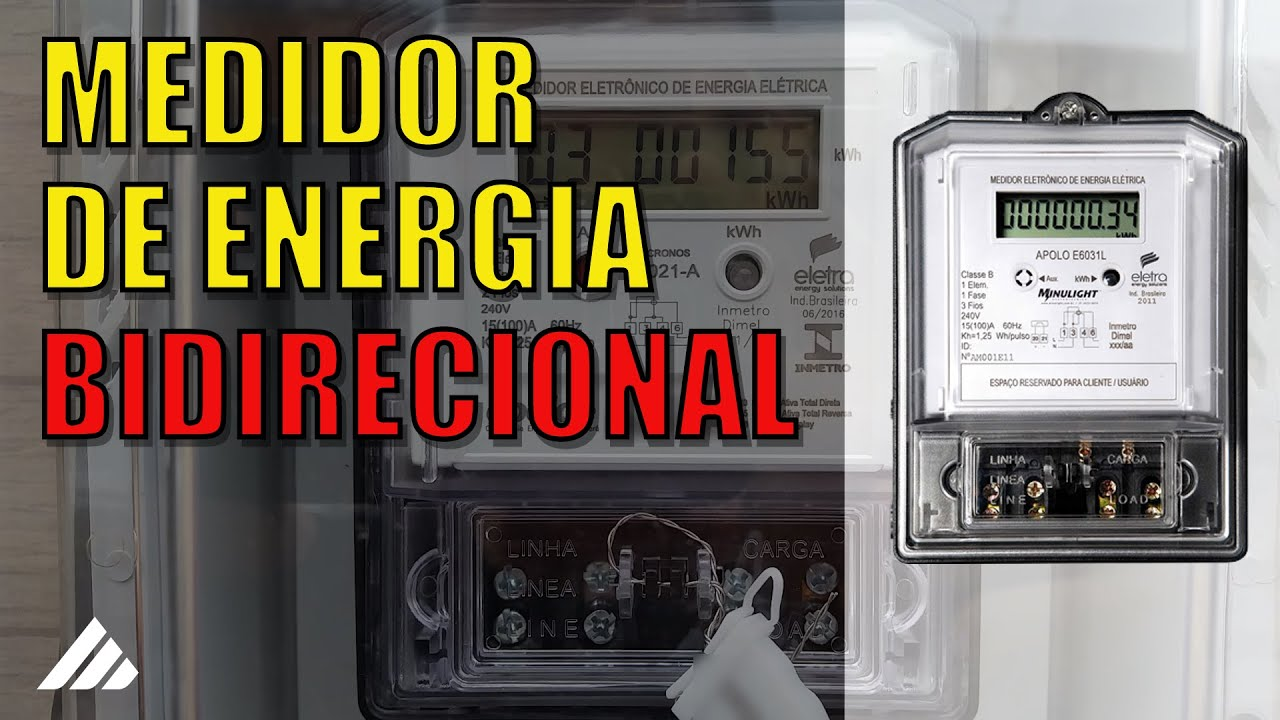 5eeccfce534 Medidor de Energia Bidirecional - YouTube