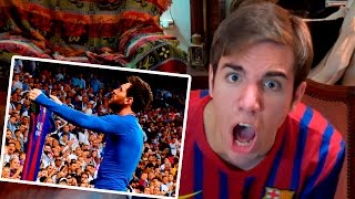 Barcelona vs Real Madrid 2-3 2017 REACCIONES DE UN HINCHA