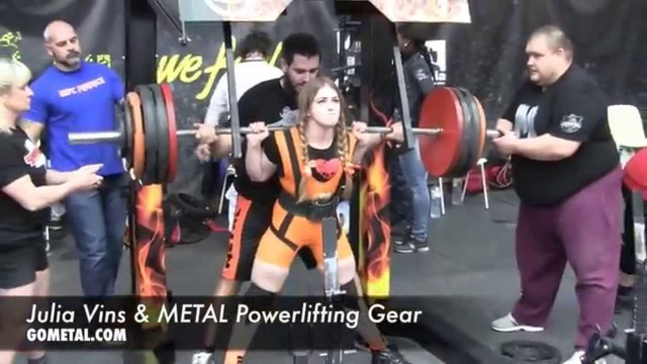 d0c886a43fecd9 Julia Vins   METAL Powerlifting Gear - YouTube