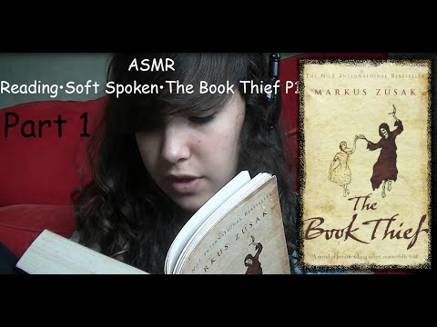 ♥ASMR♥ Reading•Soft Spoken•The Book Thief Pt1