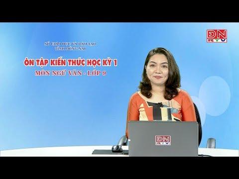 ôn Tập Kiến Thức HK1- Môn Ngữ Văn - Lớp 9