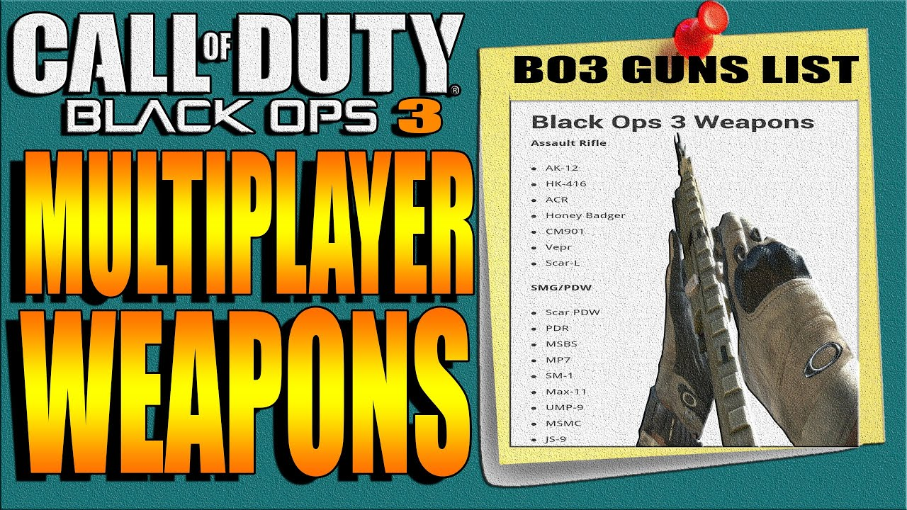 how to get classified weapons in black ops 3 online