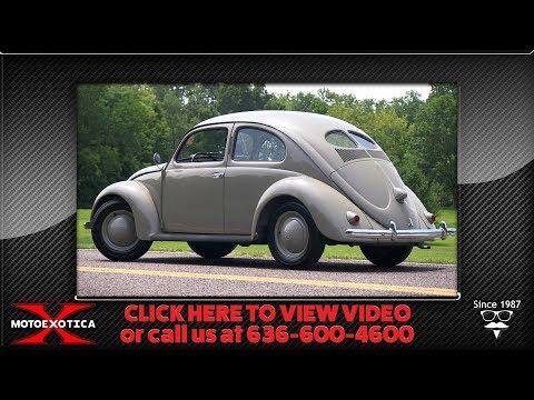 1952 Volkswagen Beetle (SOLD)