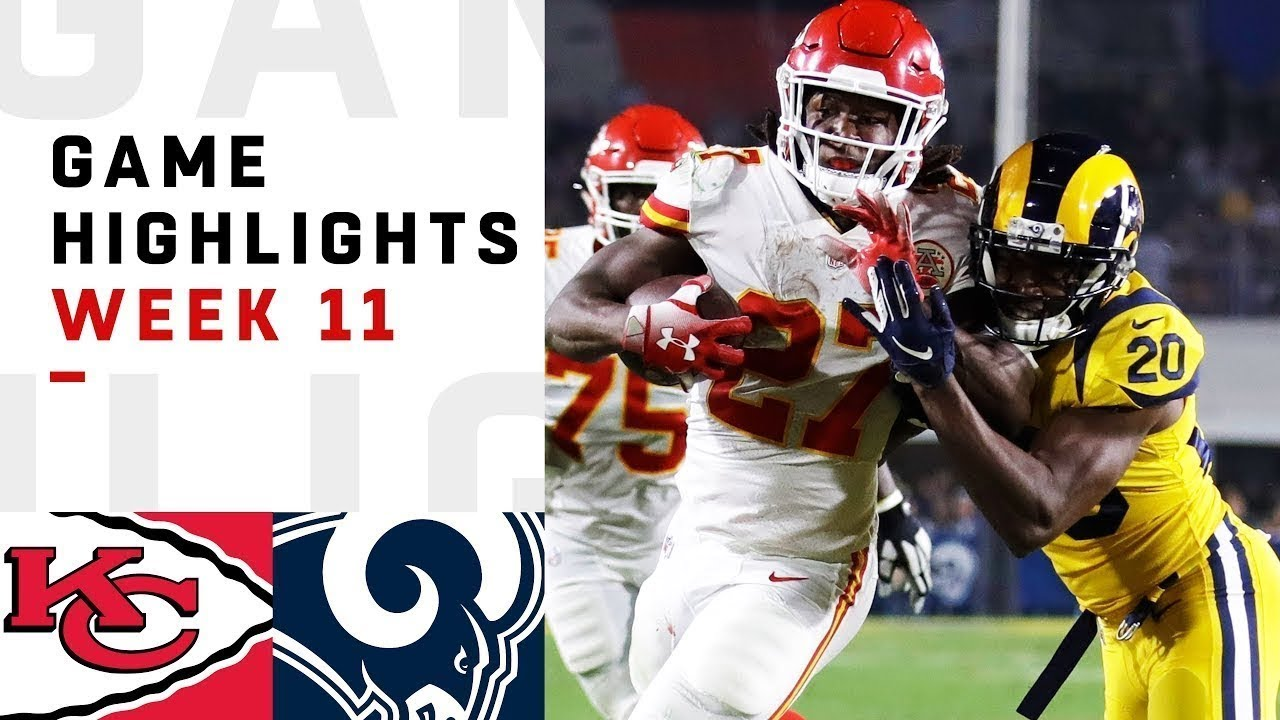 Chiefs vs. Rams Week 11 Highlights  ce17193a7