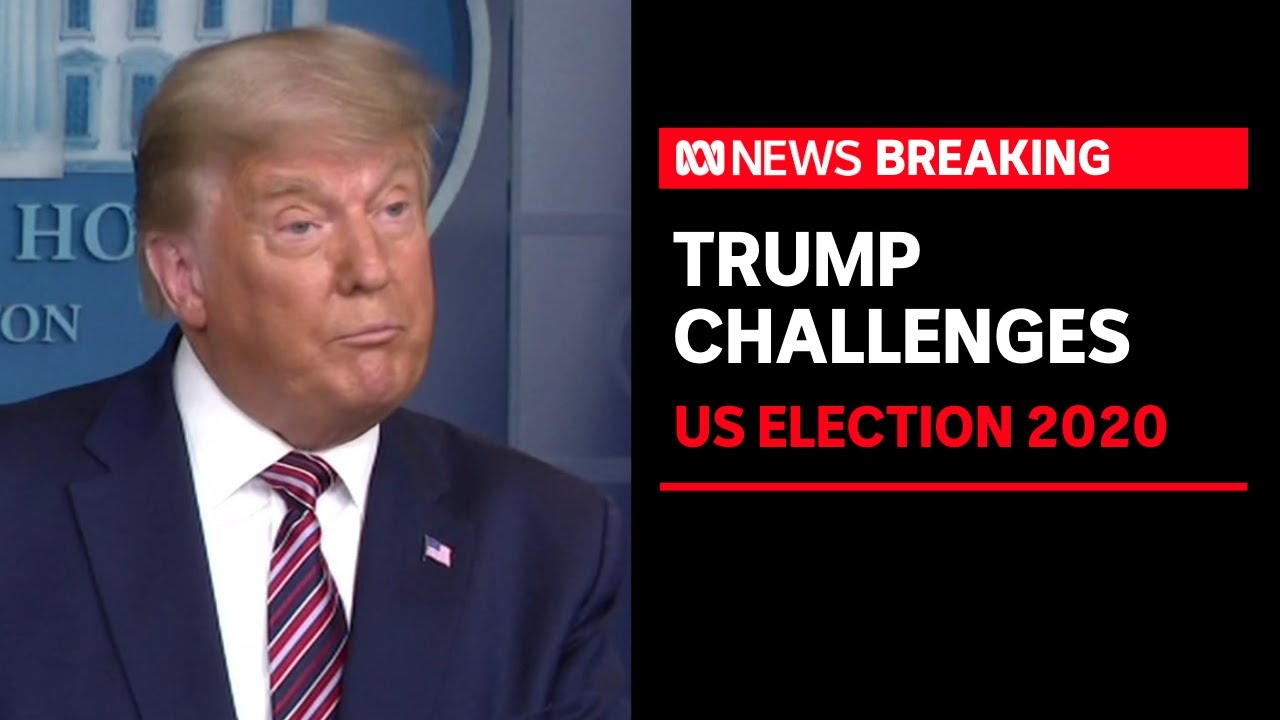 Donald Trump claims US election is being stolen, says he 'easily wins' by  'legal votes'   ABC News
