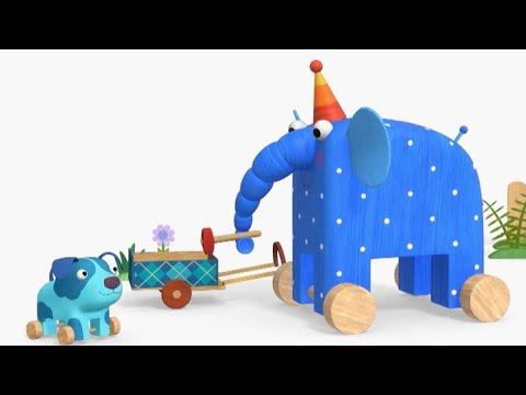 Теремок песенки  МУЛЬТ - Деревяшки (Клип) Туки-туки-бум - Детские песенки из мультфильмов