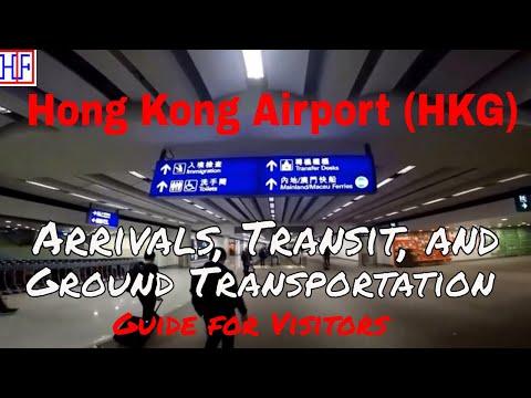 Hong Kong International Airport (HKG) to City Hotel by Airport Express Train