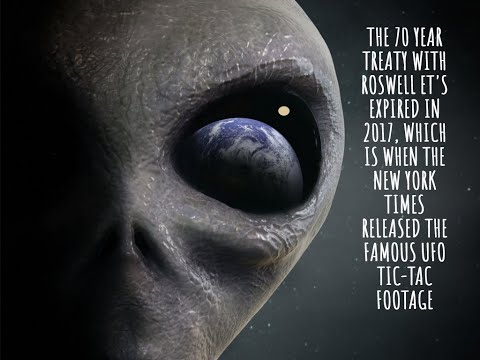 70 Year Treaty with Roswell Aliens Expired in 2017, Then Came Disclosure