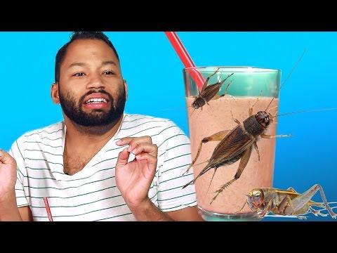 Oreo Cricket Milkshake Taste Test