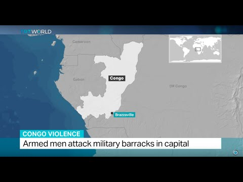 Armed men attack military barracks in Congo capital