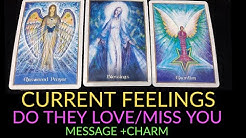 PICK A CARD 🔮 NO CONTACT- CURRENT FEELINGS/DO THEY LOVE U/DO THEY MISS U/ MSGS +CHARM ❤️ TIMELESS