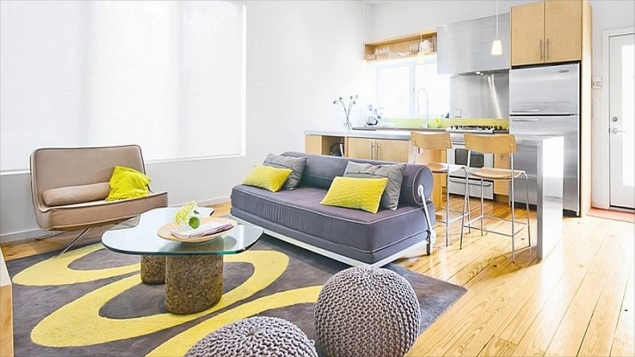 Brown And Gray Living Room Yellow And Gray Living Room Youtube