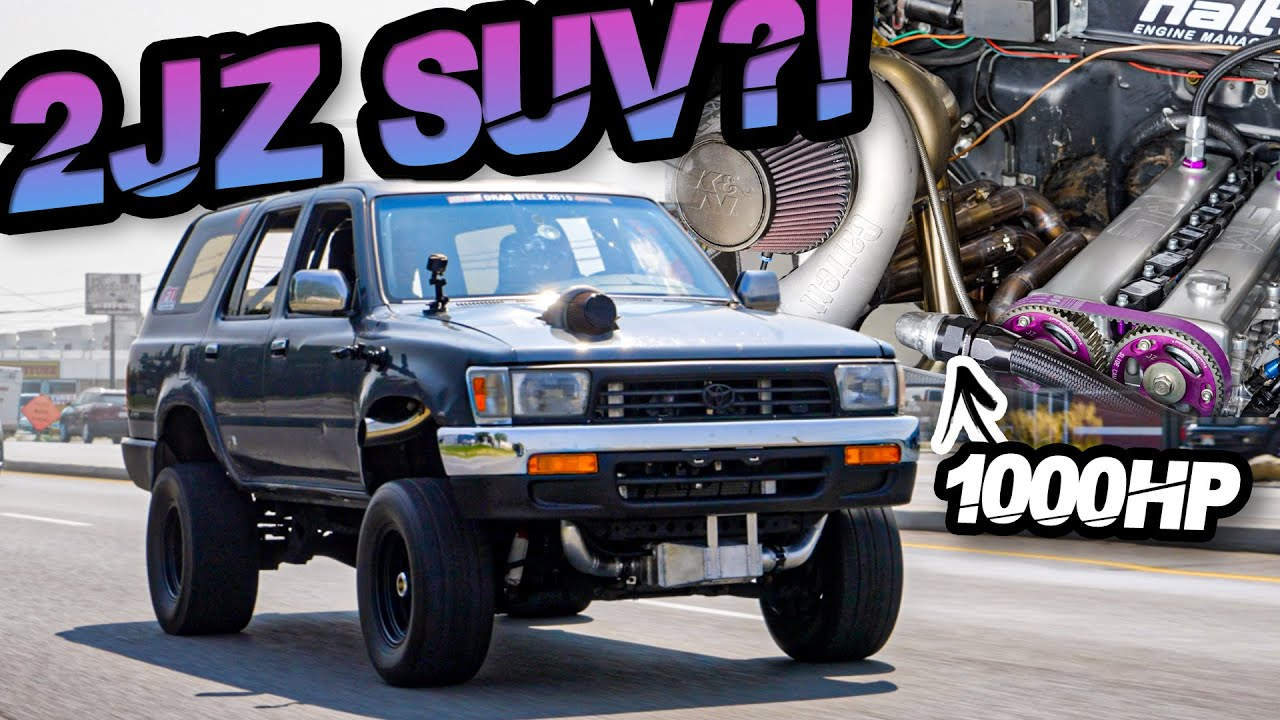 Download 2JZ 4Runner?! 1000HP Supra SUV (Fastest Toyota 4Runner on the Planet!)