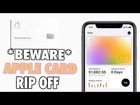 Is The Apple Card Legit ? | Fine Print Explained