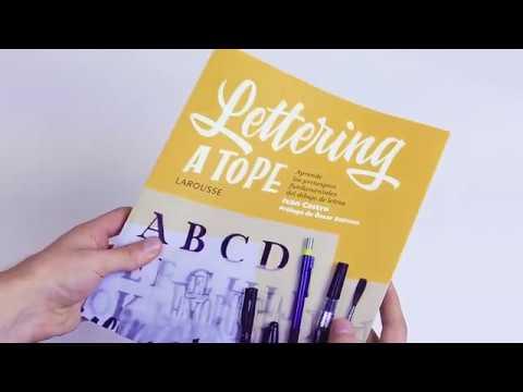 Lettering a tope, de Ivan Castro. El manual definitivo para aprender la caligrafía y la rotulación