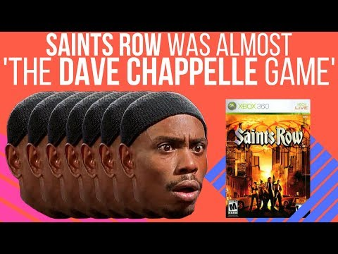 Saints Row was almost 'The Dave Chappelle Game'