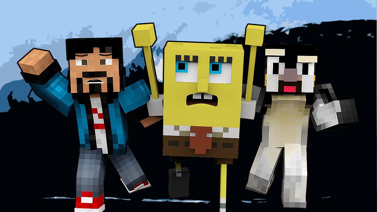 Minecraft save spongebob bikini bottom w for The atlantic craft minecraft