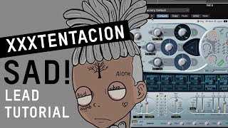 How to make the lead pluck from XXXTENTACION – SAD!