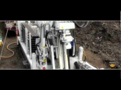Fraste FS 250 Drilling Rig- Mineral exploration Drilling Rig - Canada