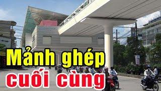 Hoàn thành mảnh ghép cuối cùng tuyến đường sắt trên cao Nhổn - Ga Hà Nội