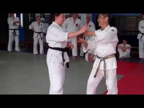 No 36 Inoue Yoshiomi Sensei at the British Aikido Association Summer School 2016