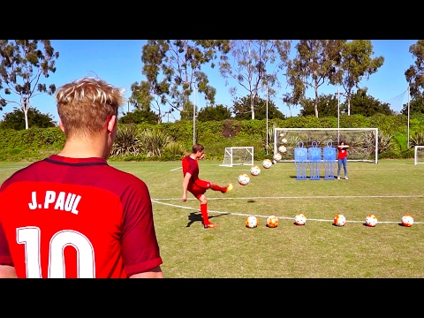 INSANE SOCCER TRICKSHOTS WITH USA SOCCER TEAM