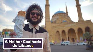 COALHADA, FALAFEL, TEMPEROS E CARNES LIBANESAS | Viagem Líbano | Mohamad Hindi