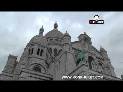 8 เที่ยวฝรั่งเศส มหาวิหารซาเคร เกอร์ Montmartre Cemetery
