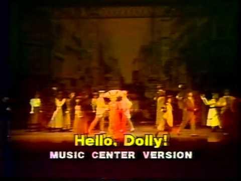 Hello Dolly TV s, Carol Channing, Jo Anne Worley, 1982