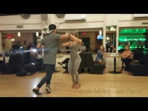 Ricardo Vega And Karen Forcano Salsa Workshop 2017.