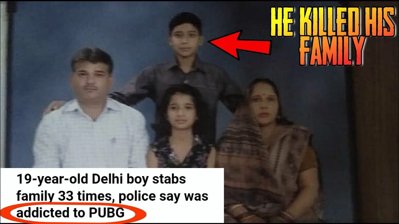 He Killed His Family Because Of Pubg 19 Year Old Delhi Boy