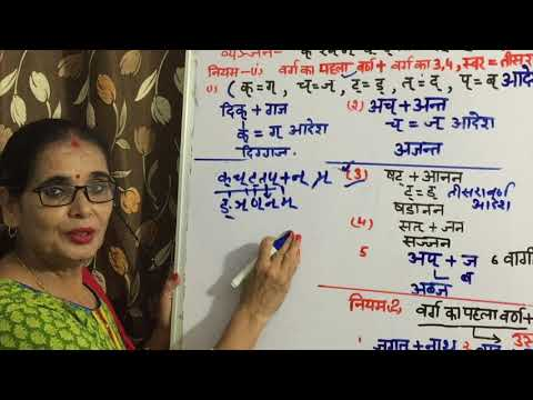 """HINDI VYANJAN - SANDHI "" HELPFUL FOR UPTET ,RTET,HTET andEVERY COMPETITIVE EZAMINATIONS"