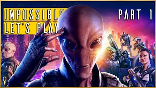 FLIPPING THE FORMULA || XCOM Chimera Squad Impossible Let's Play Part 1