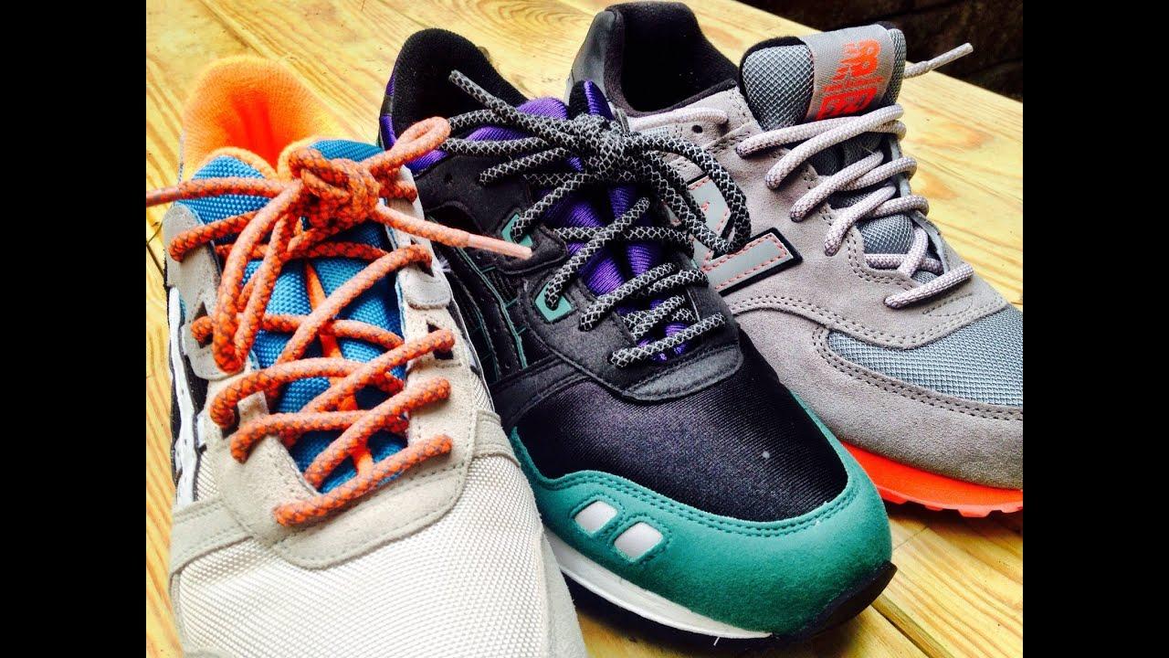 asics laces