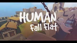 Human Fall Flat Multiplayer Funny puzzle game :)