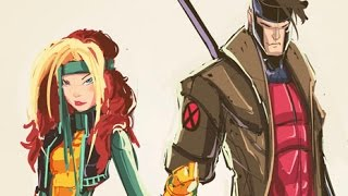 Sketches @ Midnight: X-Men Rogue & Gambit
