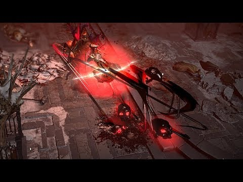 Path of Exile: Demonic Blade Flurry