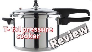 T-fal Mirro Aluminum Pressure Cooker, 8-qt review