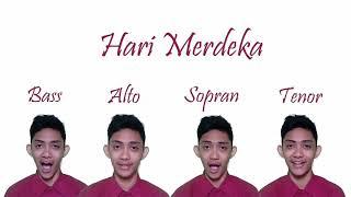 Download lagu Lagu Kemerdekaan Dinyanyikan Oleh Bass Alto Sopran Dan Tenor