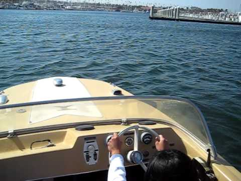 1965 Glastron Boat 17 Foot 100 Hp Mercury Out Board Motor