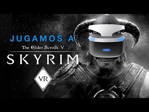 Jugamos a Skyrim VR con las PSVR en una PlayStation 4 Pro