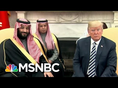 Rpt: Donald Trump, Saudis Seek 'Mutually Agreeable Explanation' In Killing | The Last Word | MSNBC